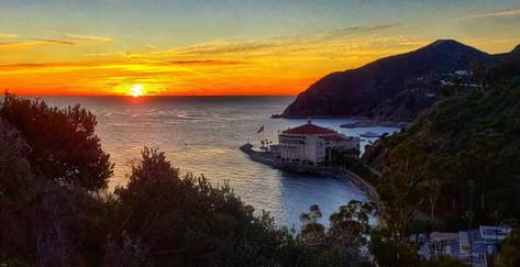 Sunrise on Catalina Island