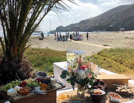 catalina outback wedding