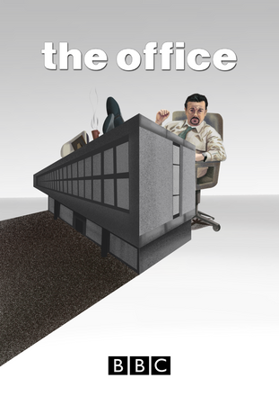 """Speculative poster design for the television series """"The office"""""""