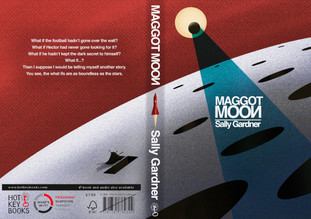 """Speculative book cover for the book """"Maggot moon"""" - Hot Key Books Long Listed"""