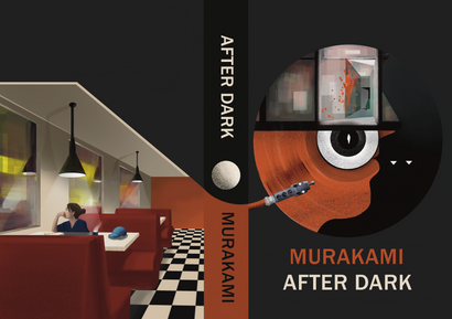 """Speculative book cover for the book """"After dark"""""""