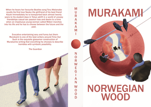 """Speculative book cover for the book """"Norwegian Wood"""""""