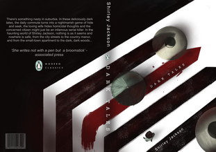 """Speculative book cover for the book """"Dark Tales"""""""