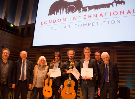 Victory at the London International Guitar Competition