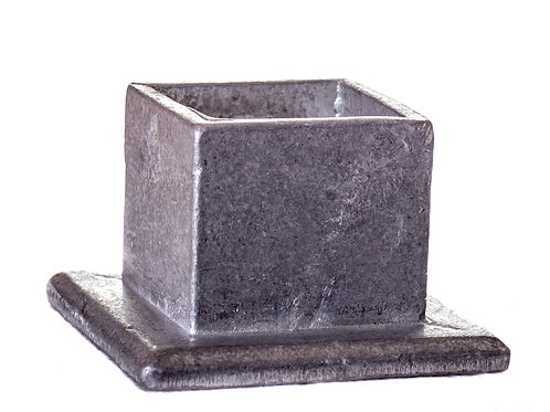 Anclaje base 70x70 aluminio