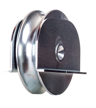 Polea 80 R20 c/soporte soldar
