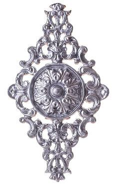 Roseta 099 de 480x880mm aluminio