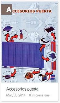 Catálogo Accesorios puerta