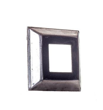 Tapa base de 50x50 aluminio