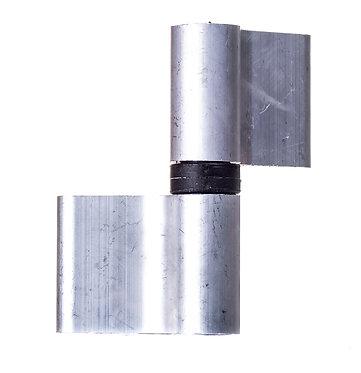 Bisagra 2 cuerpos aluminio