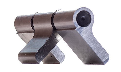 Bisagra 3 cuerpos aluminio