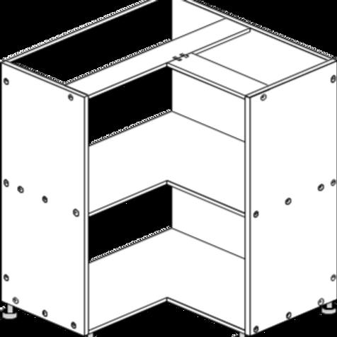 Base Cabinet Corner 900