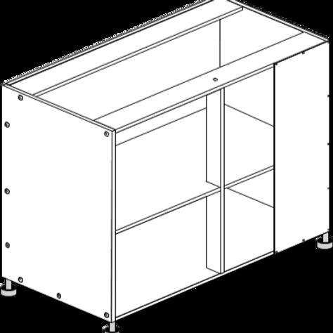 Base Cabinet Blind Corner 1100