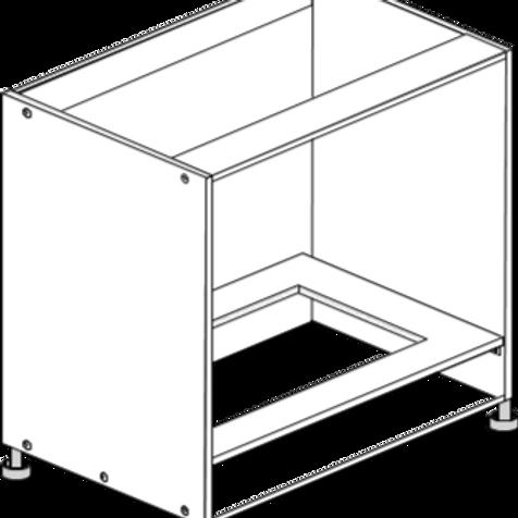 Base Cabinet Oven 600