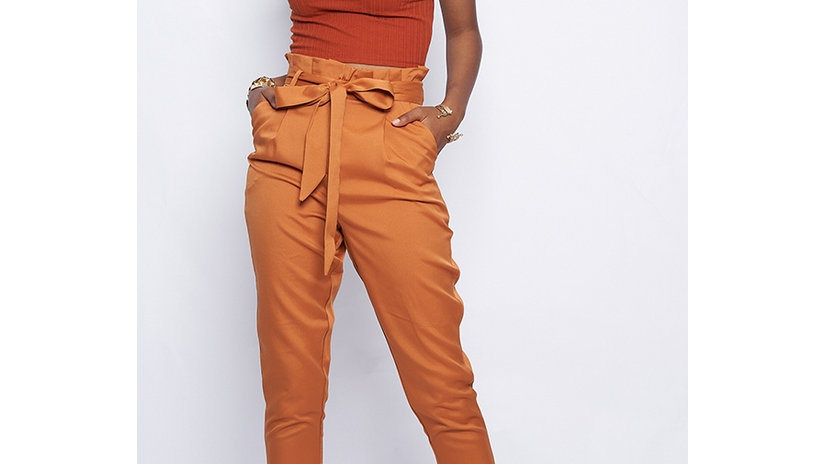 SELF TIE PANTS by Better Be