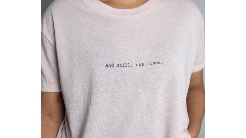 And Still, She Rises Cropped Tee