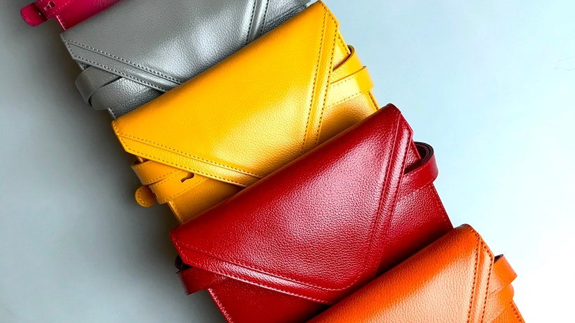 Sadie Leather Adjustable Fanny Pack Crossbody