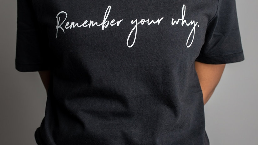 Remember Your Why -Inspirational Tee