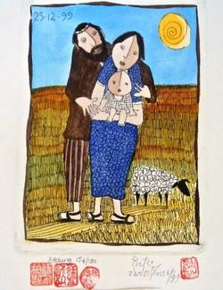 #125 Xmas Cards Paintings
