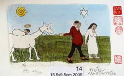 #114 Xmas Cards Paintings