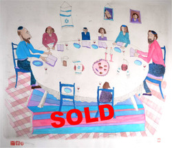 #507 Passover Meal SOLD
