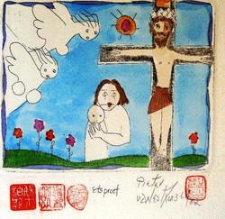 #124 Xmas Cards Paintings