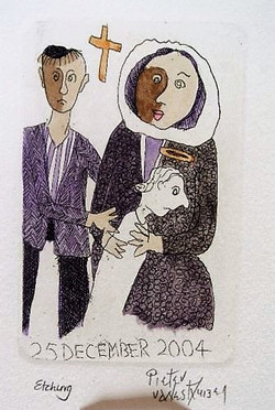 #111 Xmas Cards Paintings