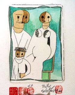 #121 Xmas Cards Paintings