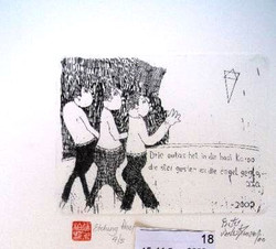 #113 Xmas Cards Paintings