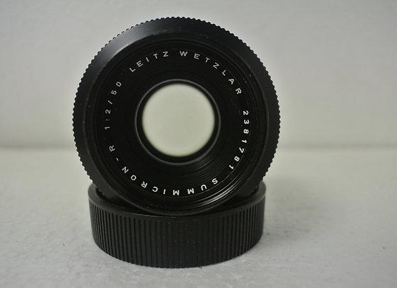 50mm f2 Leitz Wetzlar Summicron-R