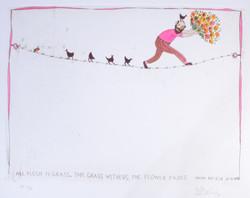 #362 Pieter op Tightrope - Pink