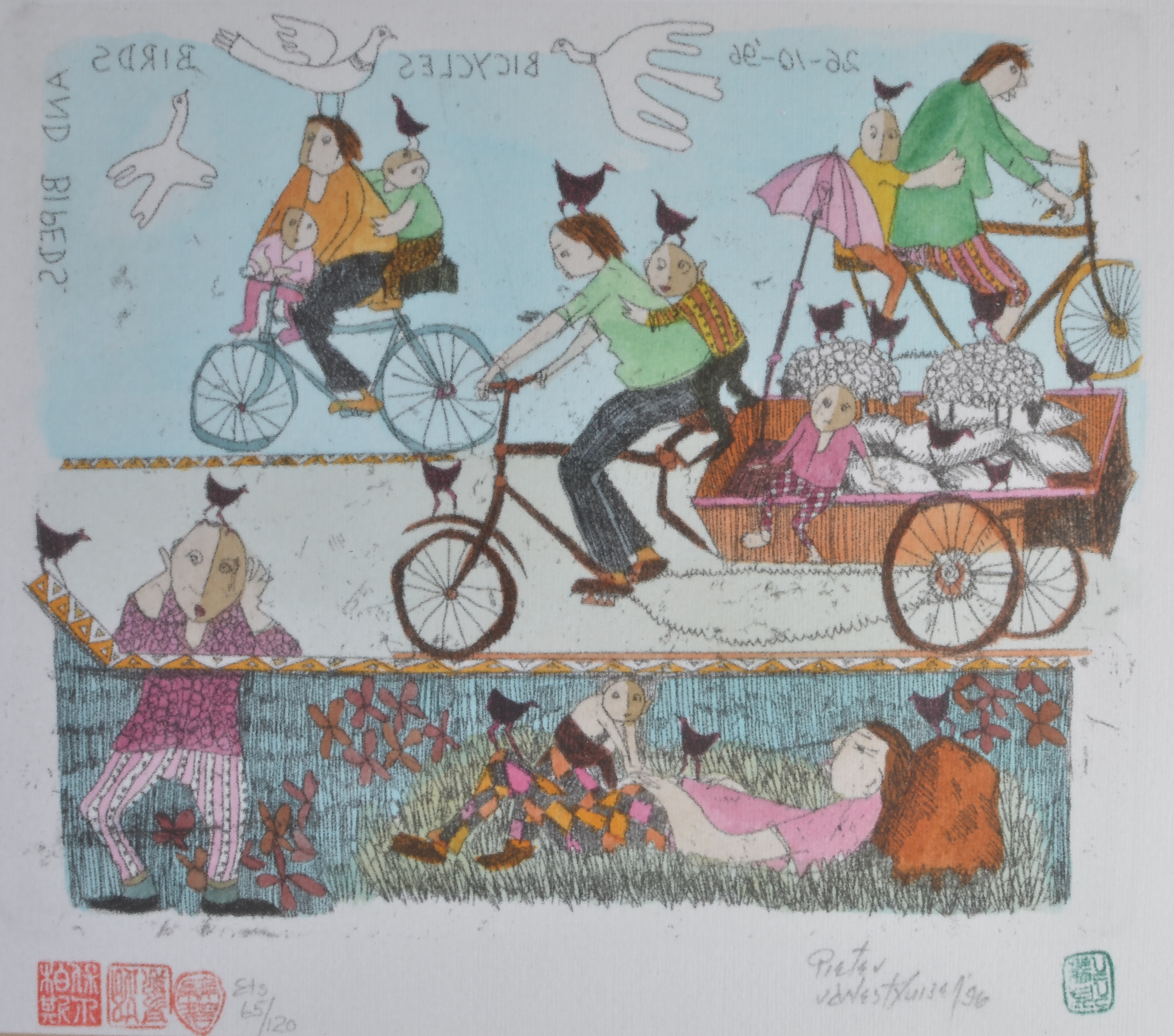 #316 Bicycle,Birds &Bipeds
