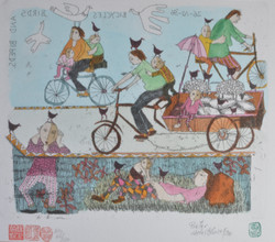 #316 Bicycle,Birds &Bipeds