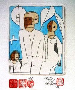 #122 Xmas Cards Paintings
