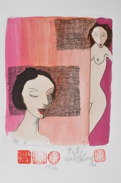 #74 Thinking Nudes-pinlk