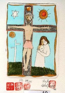 #120 Xmas Cards Paintings