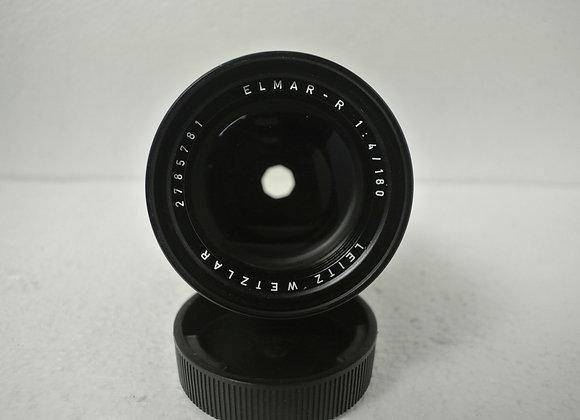 180mm f4 Elmarit-R Leitz Wetzlar