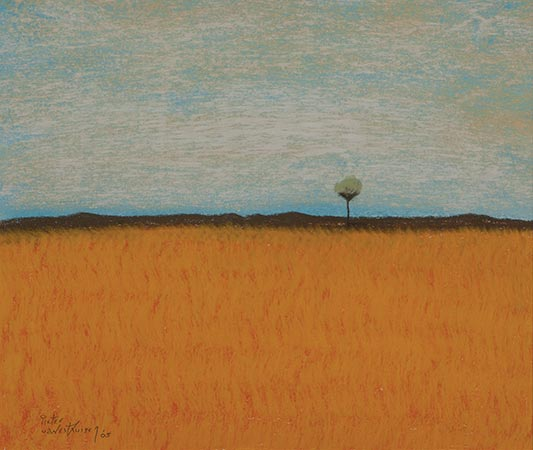 #221 Tree in the Golden Field