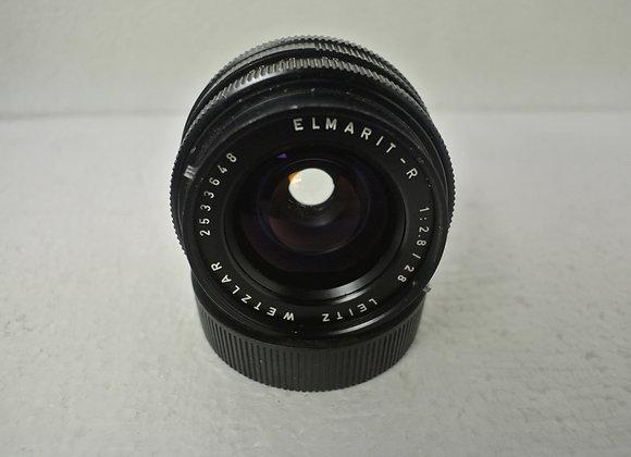 28mm f2,8 Elmarit-R Leitz Wetzlar