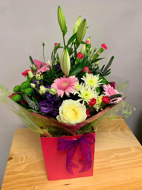 Florists Choice Gift Hand tied Bouquet