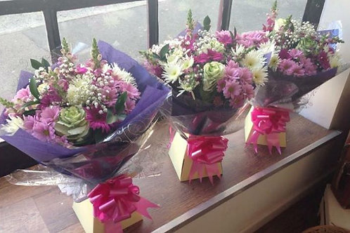 SMALL Florists Choice Gift Hand tied Bouquet