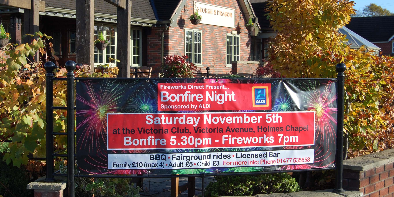 Bonfire Banner