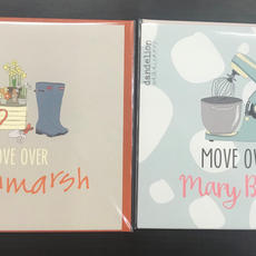 Birthday Cards Move Over