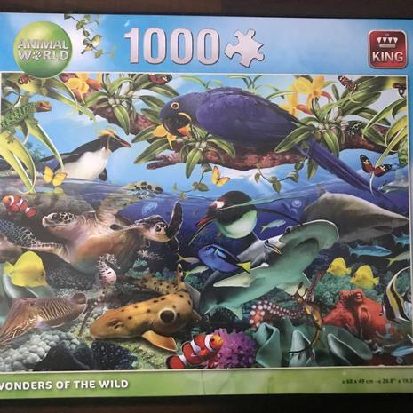 Jigsaw -The Wild 1000 Piece