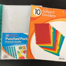 Punched Pockets & Dividers