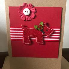 Handmade Christmas Card A