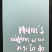 'Mum' A6 Lined Notebook