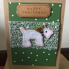 Handmade Christmas Card E