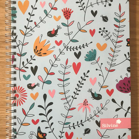 Silvine Lined Notebook D