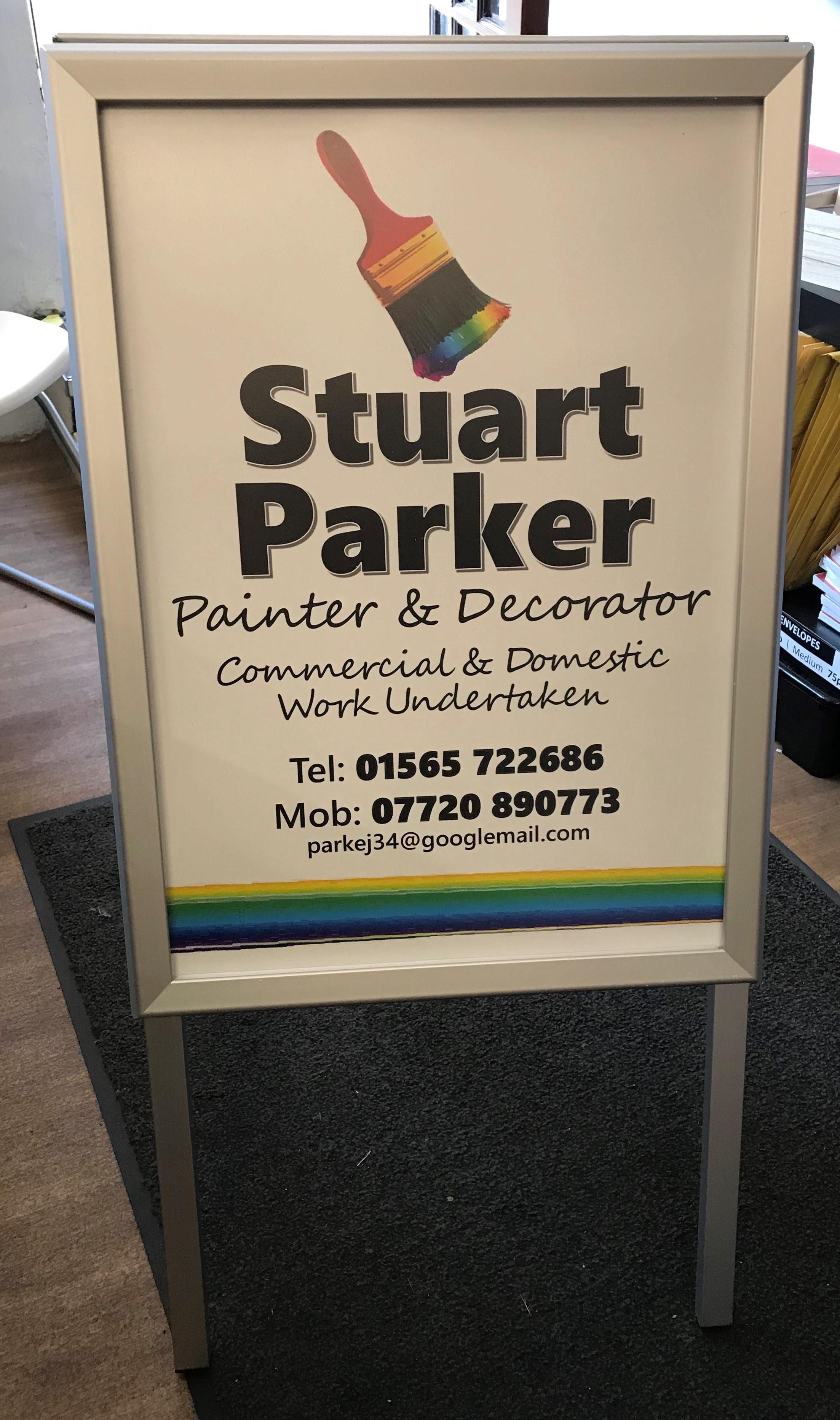 A Board Stuart Parker